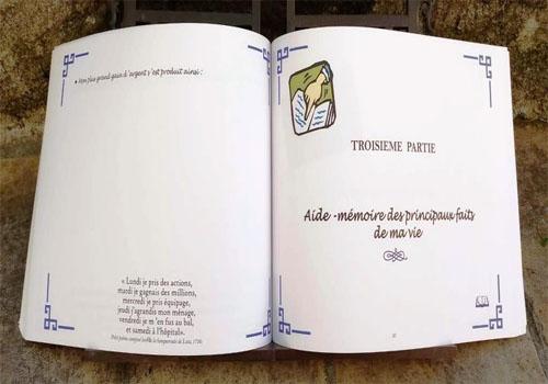 contenu du livre « le roman de ma vie »