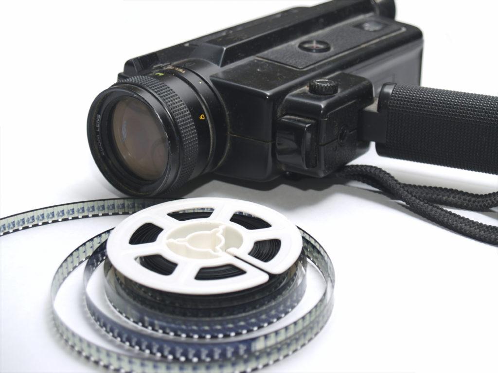 Bobines de films n'ayant plus de projecteurs pour être visionnés